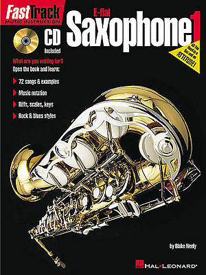 Learn how to play Saxophone w/ FastTrack Book & CD Saxophone E Flat Volume 1