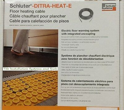 Schluter-DITRA-HEAT-E  Floor heating cable DHEHK12032