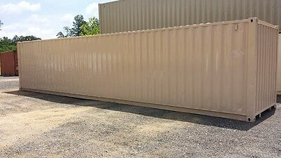 40' Cargo Shipping Container - Refurbished