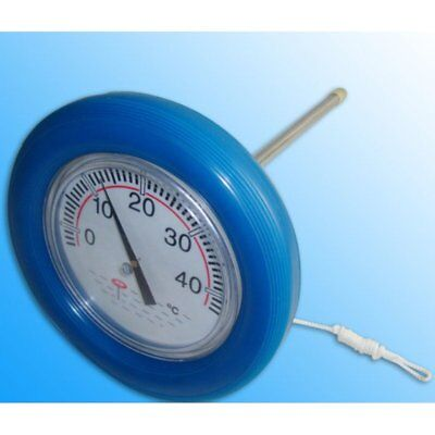großes Pool - Thermometer Schwimmring Poolthermometer Teich Badethermometer