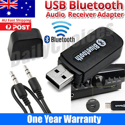 Bluetooth A2DP Audio Music Receiver Dongle Adapter For iPhone 4 4S 5 5G HIFI TV