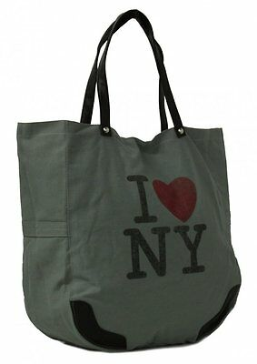 WHOLESALE JOB LOT 12 x I LOVE NY SHOPPER TOTE HANDBAG BAG REUSABLE BAG FOR LIFE