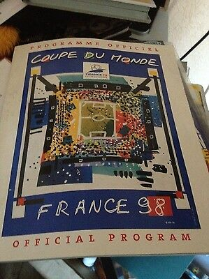World Cup France 98 Official Programme