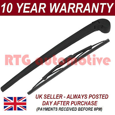 "For Audi A4 8E8H B6 Avant Estate 2000-2006 330Mm 13"" Rear Wiper Arm + Blade Kit"