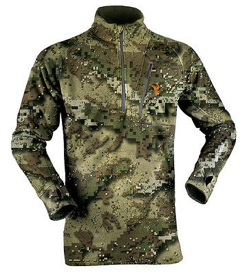 Hunters Element Ascend Micro Fleece Hunting Top Veil Camo