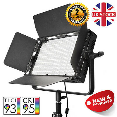 VNIX1000S Video Light LED Panel Interview Green Screen Continuous Lighting 5500K