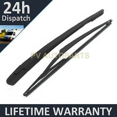 "For Vauxhall Opel Corsa D Hatchback (2006-14) 305Mm 12"" Rear Wiper Arm Blade Kit"