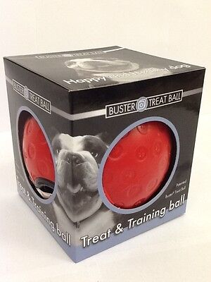 Buster Treat Ball Large, RED. Premium Service. Fast Dispatch.