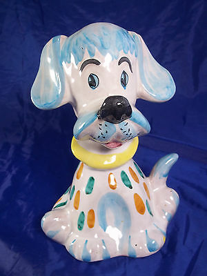 Italy Puppy/Dog Bank Hand Painted Numbered