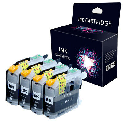 4 Black Ink Cartridge fits Brother DCP-J562DW MFC-J480DW MFC-J680DW MFC-J880DW