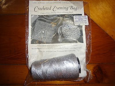 Vintage - Crocheted Evening Bags KIT - Silver