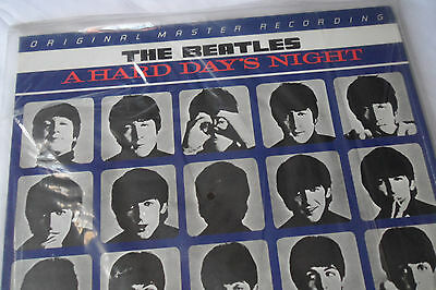 SEALED mfsl BEATLES 'A Hard Day's Night' 1/2 Speed 180g LP,  MFSL 1-103