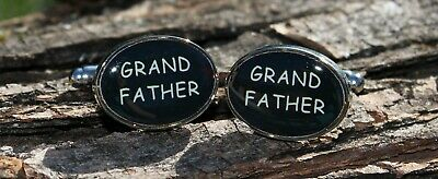 """Men's """"Grandfather"""" Cufflinks and Gift Box ~ Novelty Formal Accessory"""