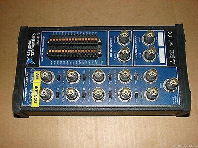 NI National Instruments X M Series BNC-2110 Shielded Connector Block W/O Cable
