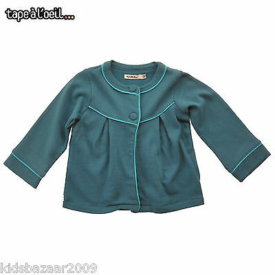 Tapealoeil Toddler Girls Tranquil Blue Blazer/Jacket Size 12M Last Chance!