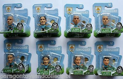 URUGUAY WORLD CUP 2014 HOME KIT SOCCERSTARZ - Choice of 8 different blisters