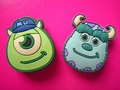Jibbitz Croc Clog Shoe Plug Charms Fit Kid Belt WristBands 2 University Monster