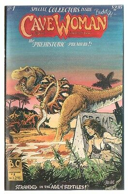 Cavewoman #1 1st Appearance 1st Printing Signed by Budd Root 1994 VF+