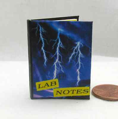 GALE BOETTICHER'S LAB NOTES 1:6 Scale Readable Illustrated Book Barbie Scale