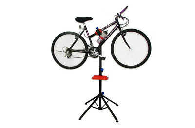 Big Horn Fully Adjustable Bicycle Repair Stand Storage Rack Mechanic/Pro Ride !