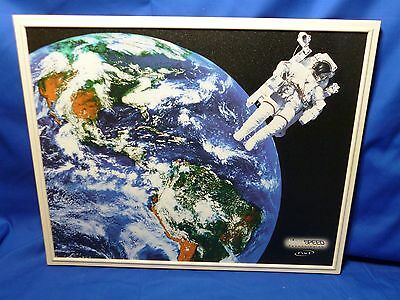 LightSPEED Flat Panel Wall Speaker Classroom Space NXT NXQ Earth Astronaut White