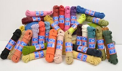Everlasto Coloured Magician's Rope - Hollow Braid Soft Cotton Rope In 30 Colours