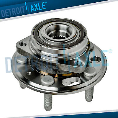 New FRONT Complete Wheel Hub and Bearing Assembly Chevy Equinox GMC Terrain ABS