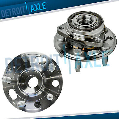 2 Front Wheel Bearing And Hub 2010-2016 Chevy Equinox Buick Regal GMC Terrain