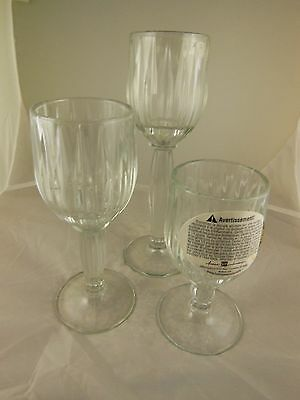 Home Interiors 3 piece Stemmed Candleholders NIB