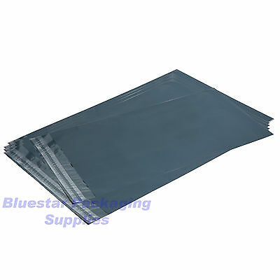 100 x Mixed Grey Strong Plastic Poly Postal Mailing Bags