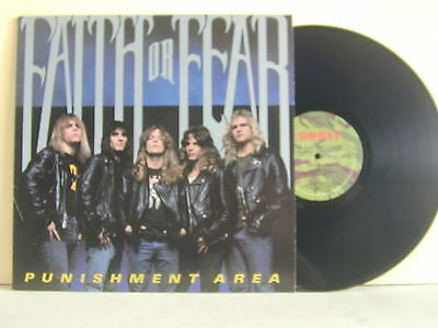 "Lp-Faith Or Fear-""punishment Area""-U.s.a. 1989-Mint/mint"