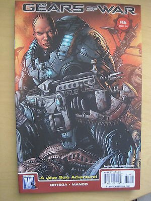 GEARS of WAR 14. BASED ON THE VIDEO GAME. By ORTEGA. DC / WILDSTORM 2010