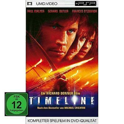 PSP UMD - TIMELINE - PAUL WALKER (Richard Donner) - Zeitreise *** NEU ***