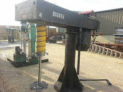 40 Hp Big H  Dissolver High Shear Process Mixer W/sst Blade