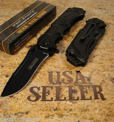 Tac-Force Drop Point Blade Assisted Opening Tactical Folding Pocket Knife New