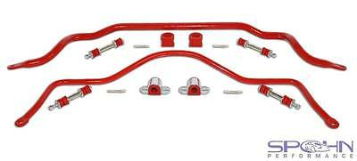32mm Front & 22mm Rear Solid 4140 Chrome Moly Sway Bar Set | 1993-2002 GM F-Body