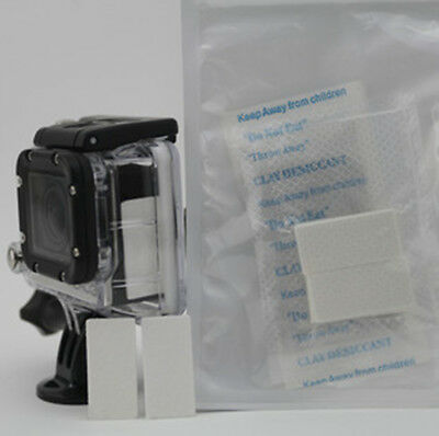 12pcs Anti-Fog Drying Inserts For GoPro HD Hero 1 2 3 3+ 4 Camera Camcorder New