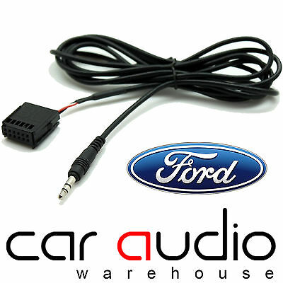 FORD Fiesta Mk2 2005 6000 CD Car MP3 iPod iPhone Aux In Input Cable Adaptor