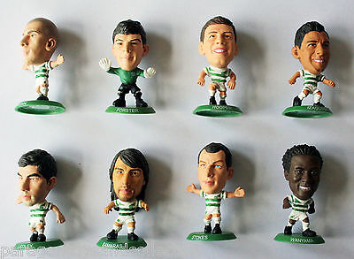 GLASGOW CELTIC 2012/13 HOME KIT SOCCERSTARZ - Choice of 9 different loose figure