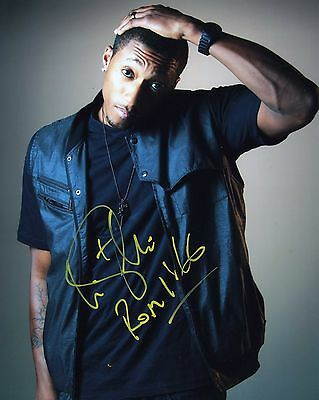 """LECRAE Moore 116 Reach Records pp SIGNED 8""""x10"""" Autographed Photo PROOF"""