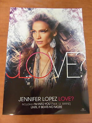 JENNIFER LOPEZ - Love? [OFFICIAL] POSTER *NEW*