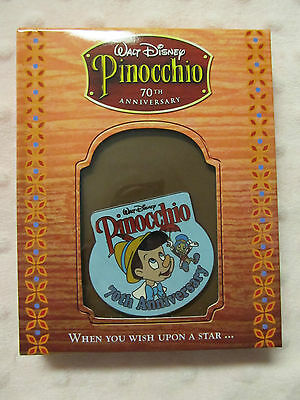 Disney Pin - DS - 70th Anniversary Pinocchio GWP - New