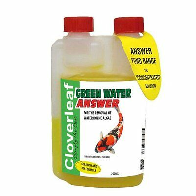 Cloverleaf Greenwater Answer Algae Pond Treatment 500ml