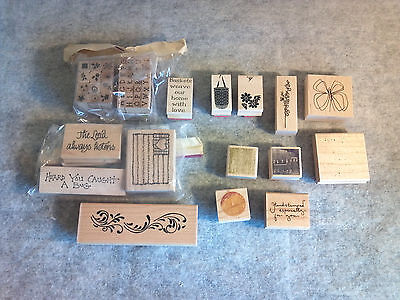 Close to My Heart Rubber Stamps Set Lot of 54 pcs Art & Craft Scrap Booking AC01
