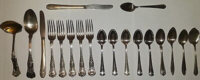 Vintage Silverplate Flatware 20 pcs WM A. Rogers Community Regal Gorham Oneida
