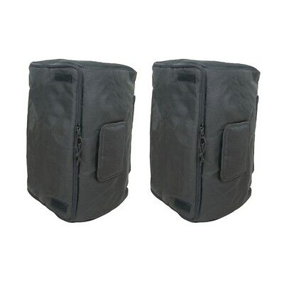 "Universal 15"" Speaker Cabinet Bag Cover Fits Peavey Pro15 & Mackie Thump 15 PAIR"
