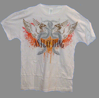 AS I LAY DYING-metalcore,death metal,licensed merchandise,band t-shirt,sizes M,L