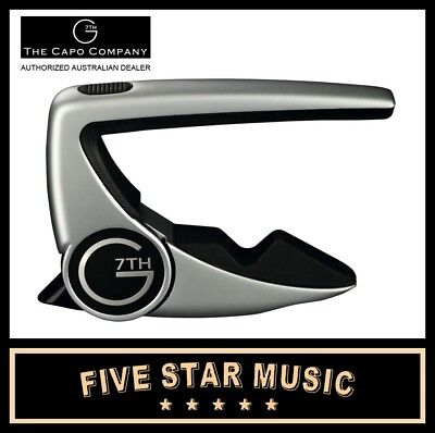 NEW G7 Performance Guitar 2 Capo G7th WORLD'S BEST CAPO JUST BETTER - NEW MODEL