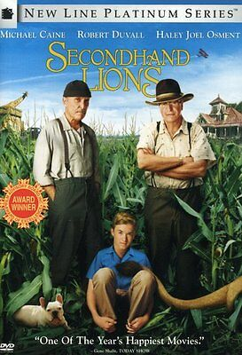 Secondhand Lions (2006, DVD NEUF) CLR/WS (RÉGION 1)