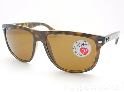 Ray Ban RB 4147 710/57 60mm Havana Brown Polarized New 100% Authentic Sunglass